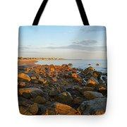 Ebb Tide On Cape Cod Bay Tote Bag