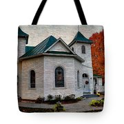 Ebenezer United Methodist Church Tote Bag