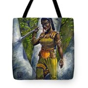Ebony Elf Tote Bag