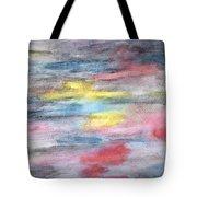 Ebony Rainbow Tote Bag by Mary Zimmerman