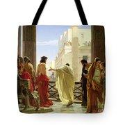 Ecce Homo Tote Bag by Antonio Ciseri