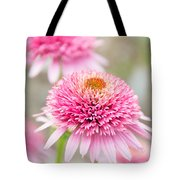Echinacea Butterfly Kisses Tote Bag