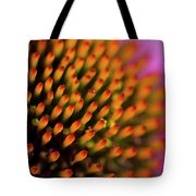 Echinacea Coneflower Abstract Tote Bag