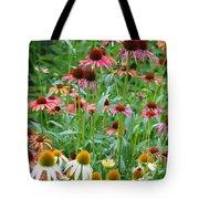 Echinacea Multi Mix Tote Bag