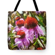 Echinacea Watercolor 2015 Tote Bag