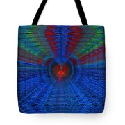 Echo Chamber Cubed Tote Bag