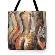 Echo Of A Nude Gesture Tote Bag