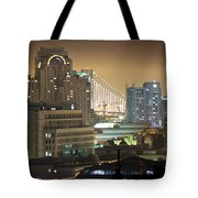 Echoes Of A City Tote Bag