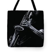 Eclectic Sax Tote Bag