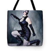 Eclipse Of The Black Cat Tote Bag