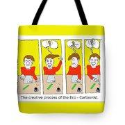 Eco Cartoonist Tote Bag