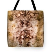 Eco Dyed Tapestry On Cotton Tote Bag