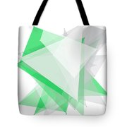 Eco Tec Polygon Pattern Tote Bag