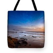 Ecola State Park At Sunset Tote Bag