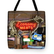 Economy Meats Tote Bag