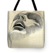 Meditating Tote Bag