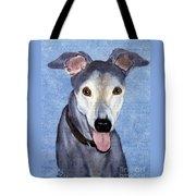 Eddie - Greyhound Tote Bag
