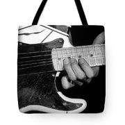 Eddie Bending Strings Tote Bag
