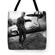 Eddie Rickenbacker - Ww1 American Air Ace Tote Bag