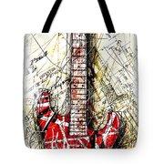 Eddie's Guitar Vert 1a Tote Bag