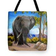 Eddy Elephant Tote Bag