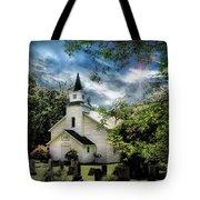 Eden Church Tote Bag