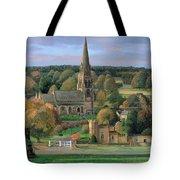 Edensor - Chatsworth Park - Derbyshire Tote Bag