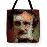 Edgar Allan Poe Artsy 2 Tote Bag