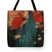 Edgar Degas - Young Woman With Ibis - 1860-1862 Tote Bag