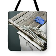 Edgartown Fishing Boat Tote Bag