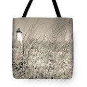 Edgartown Harbor Light Tote Bag