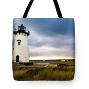 Edgartown Lighthouse Cape Cod Tote Bag