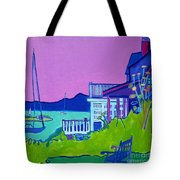 Edgartown Porches Tote Bag