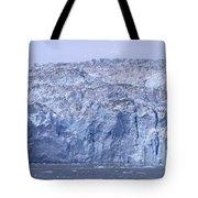 Edge Of A Huge Glacier In Alaska Tote Bag