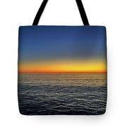 Edge Of Day Tote Bag
