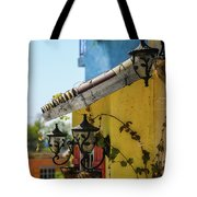 Edge Of House Tote Bag