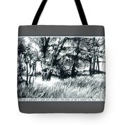 Edge Of Spring Tote Bag