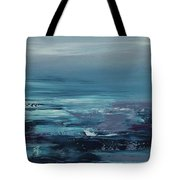 Edge Of The Deep Blue Sea Tote Bag