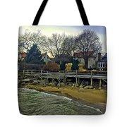 Edgemere Crt Docks Tote Bag