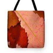 Edgy Leaves Tote Bag