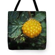 Edible Yellow Salmonberry Rubus Tote Bag