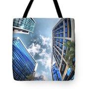 Edificios De Caracas Tote Bag