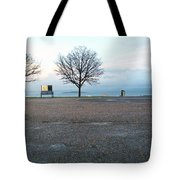 Edinburgh - Two Trees At Caption Hill Tote Bag