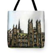 Edinburgh Architecture 3 Tote Bag