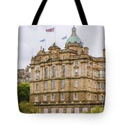 Edinburgh Bank Of Scotland Building Tote Bag