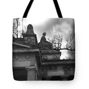 Edinburgh Black And White Tote Bag
