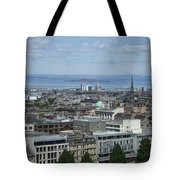 Edinburgh Castle View #5 Tote Bag