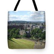 Edinburgh Castle View #6 Tote Bag