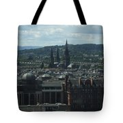 Edinburgh Castle View #9 Tote Bag