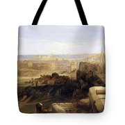 Edinburgh From The Castle Tote Bag